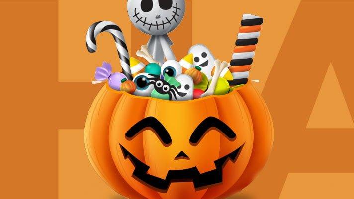 Halloween slik eller ballade i Tarup Center torsdag den 31. oktober 2019